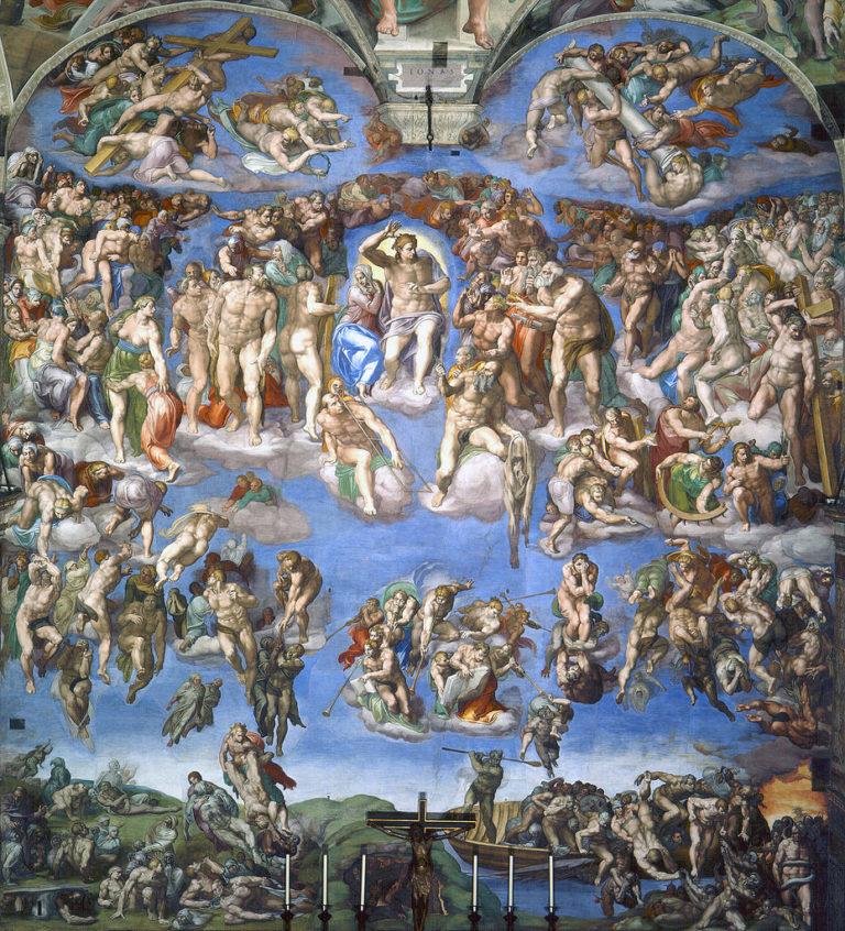 Страшный Суд. 1536-1541