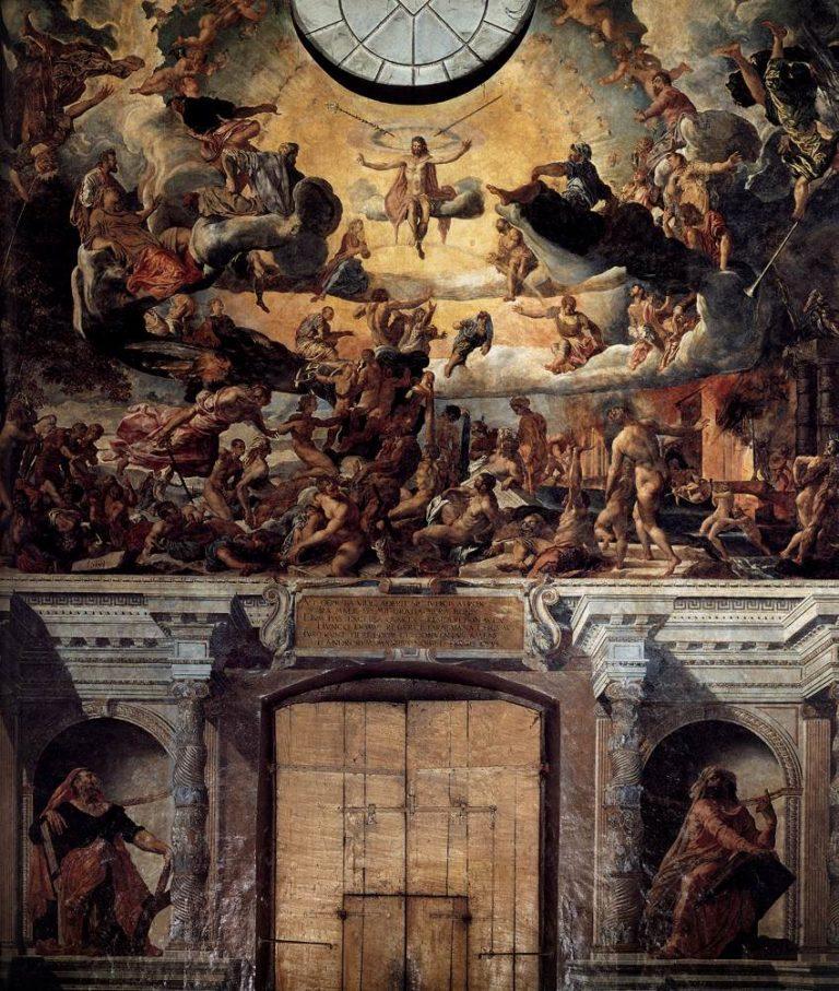 Страшный Суд. 1561