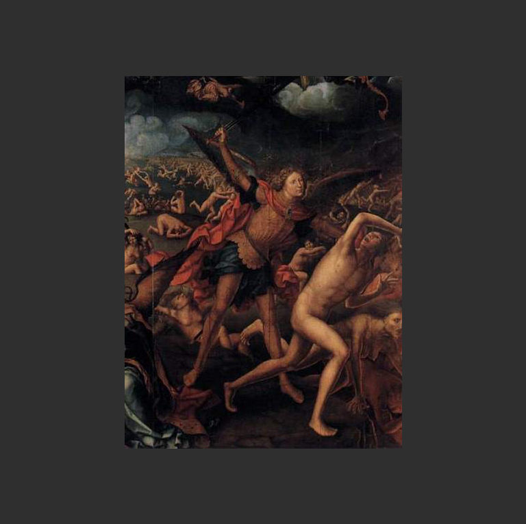 Страшный суд. Деталь. Ок. 1525