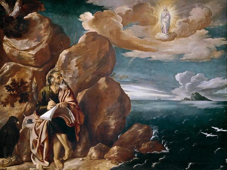 Св. Иоанн на Патмосе. 1620