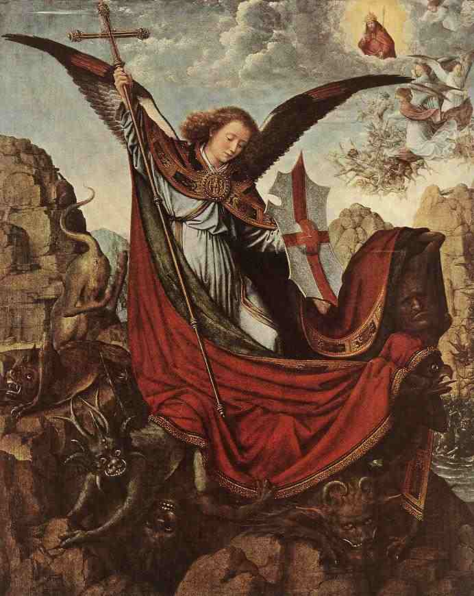 Св. Михаил. Фрагмент. 1490