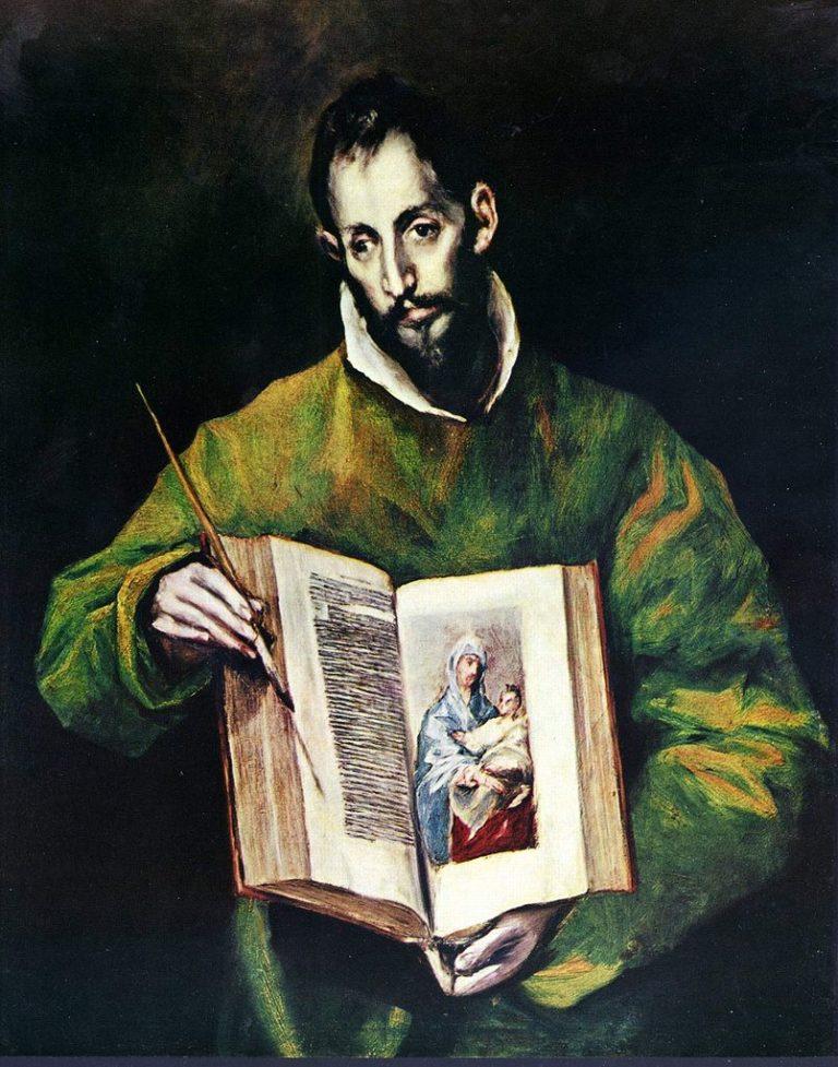 Св. евангелист Лука. 1602-1605