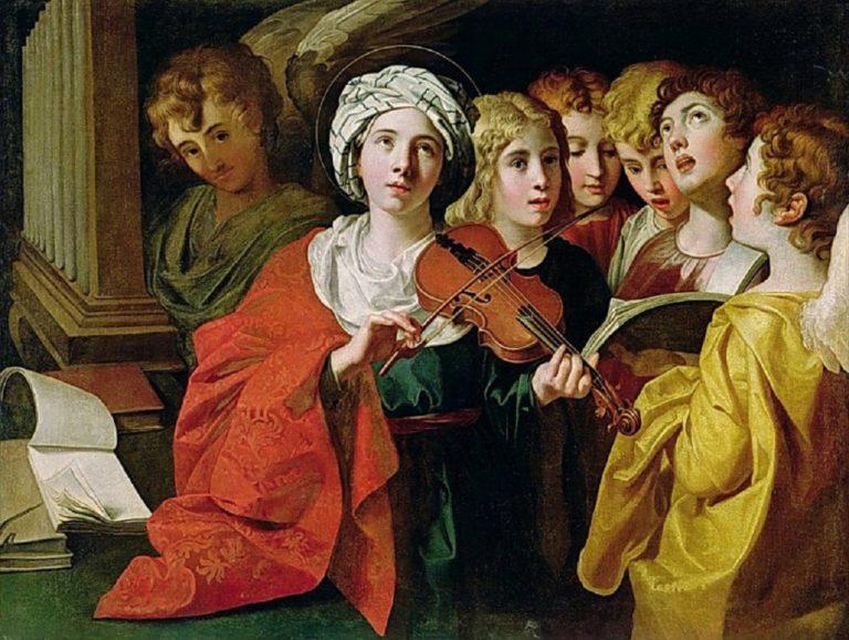 Св. Цецилия с хором
