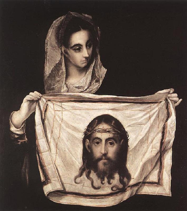 Св. Вероника с Плащаницей. Ок. 1580