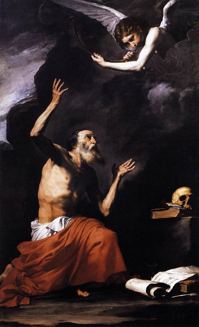 Святой Иероним и Ангел. 1626