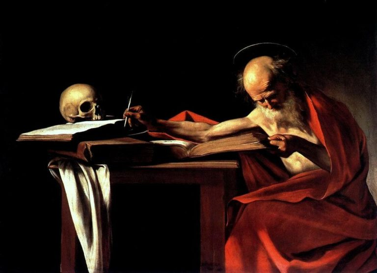 Святой Иероним. 1605-1606