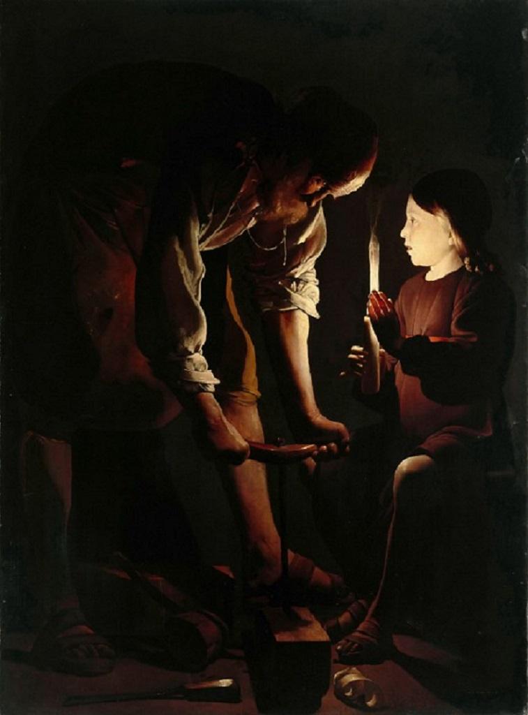 Святой Иосиф-плотник. 1640-1645