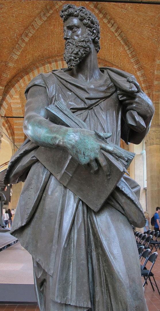Статуя св. Луки. 1597-1602