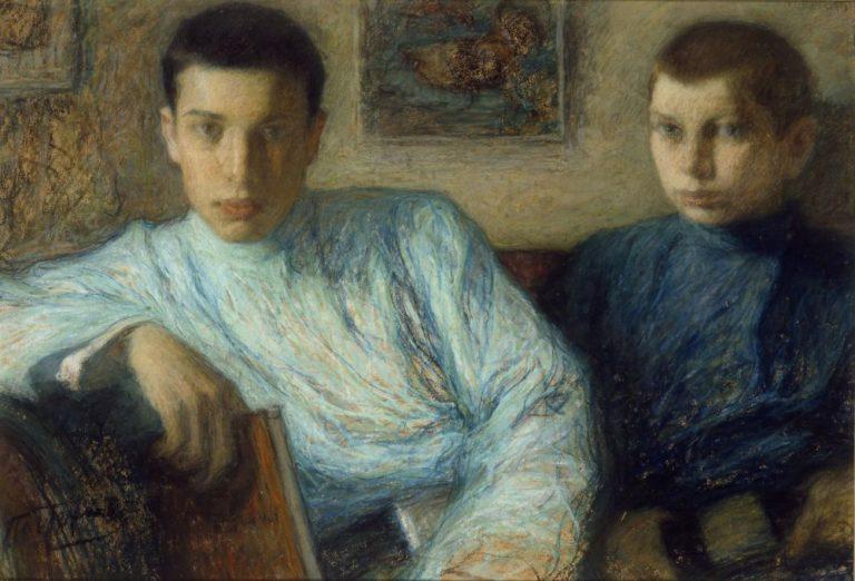 Сыновья Борис и Александр