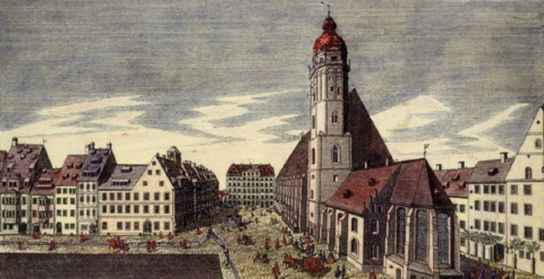 Церковь Св.Фомы в Лейпциге