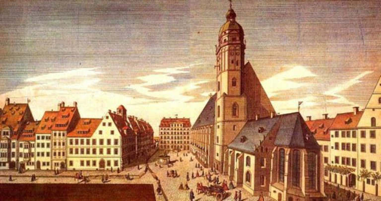 Церковь св. Фомы в начале XVIII века