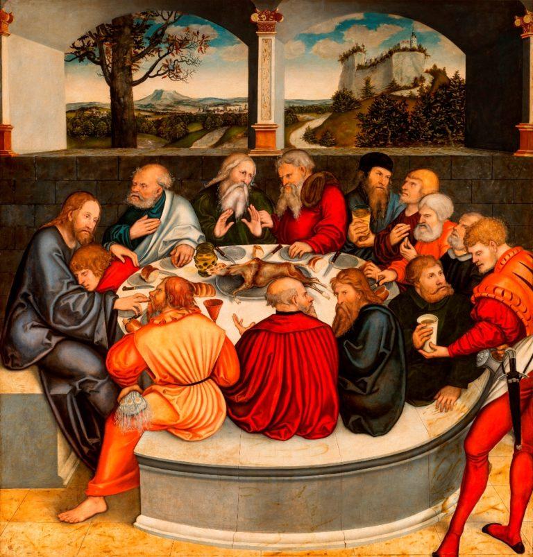 Тайная Вечеря. 1547
