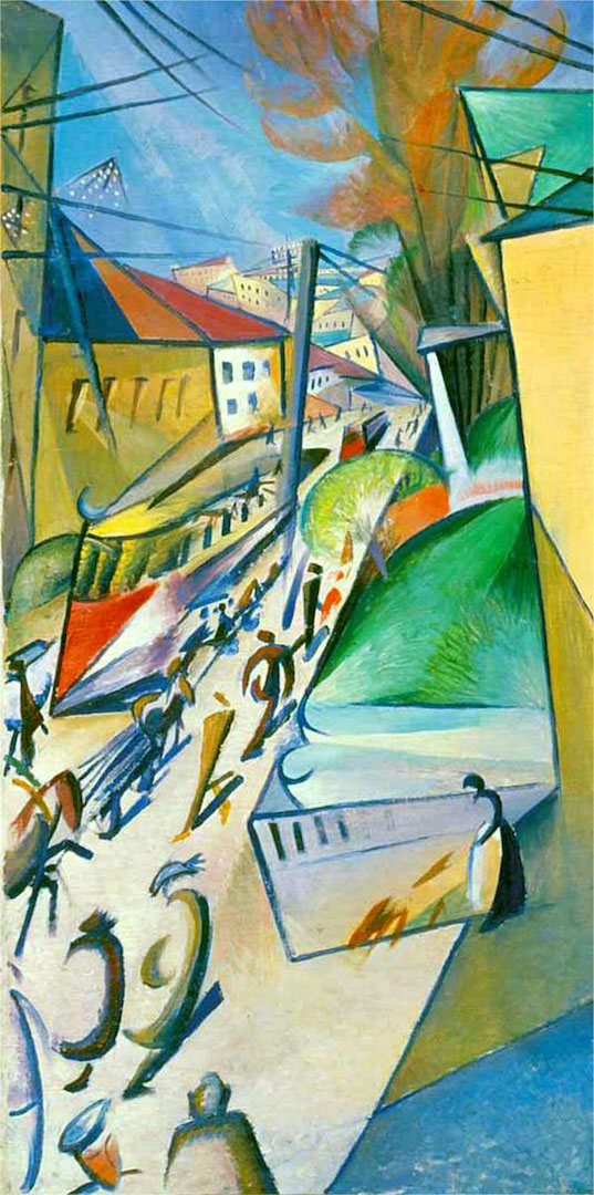 Трамвай. 1914