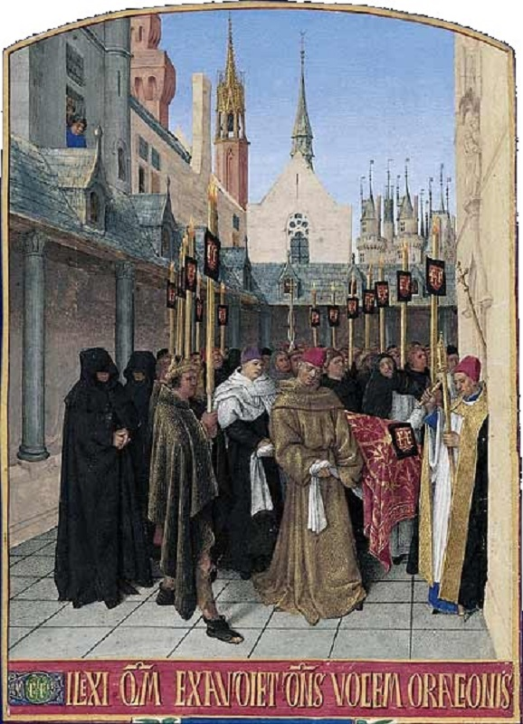 Траурная процессия. Ок. 1452-1460