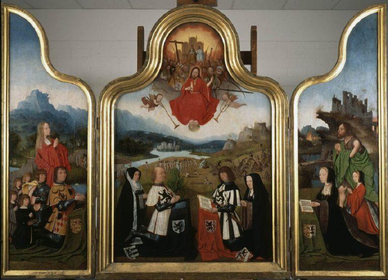 Триптих Судный день. Ок. 1510-1514.