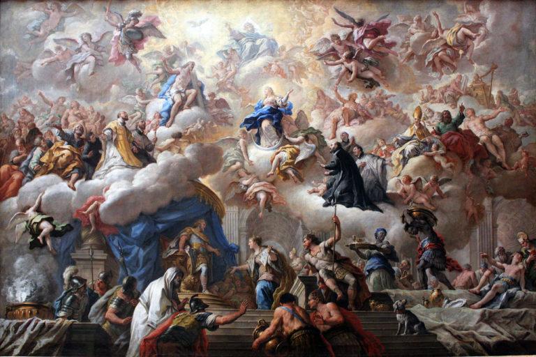 Триумф непорочных. 1710-15