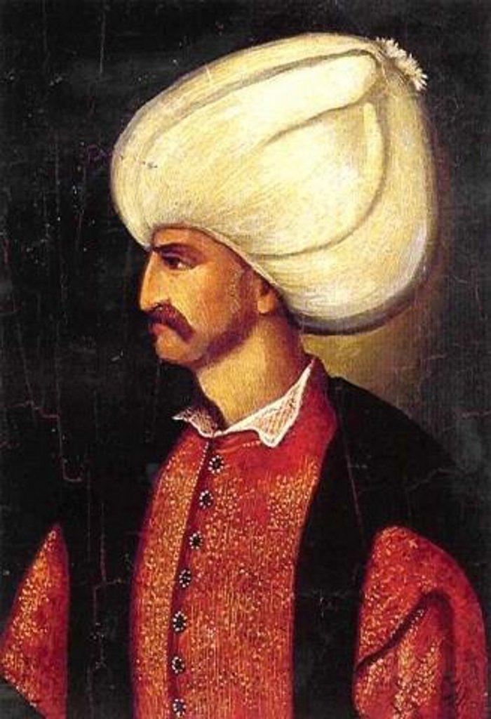 Турецкий султан Сулейман I Великолепный (1520-1566)