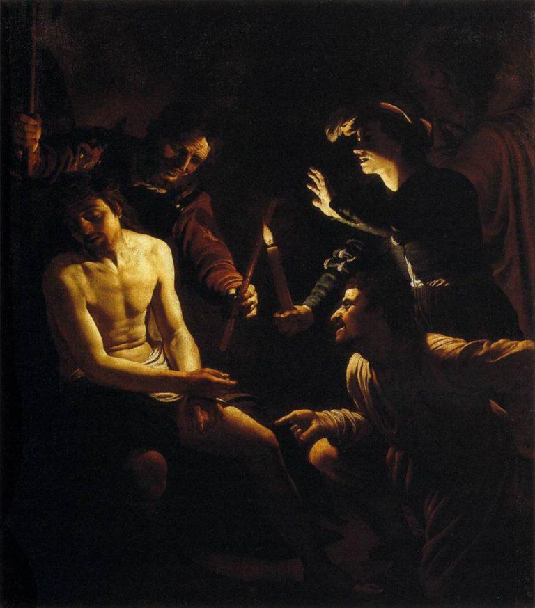 Уничижение Христа. 1616