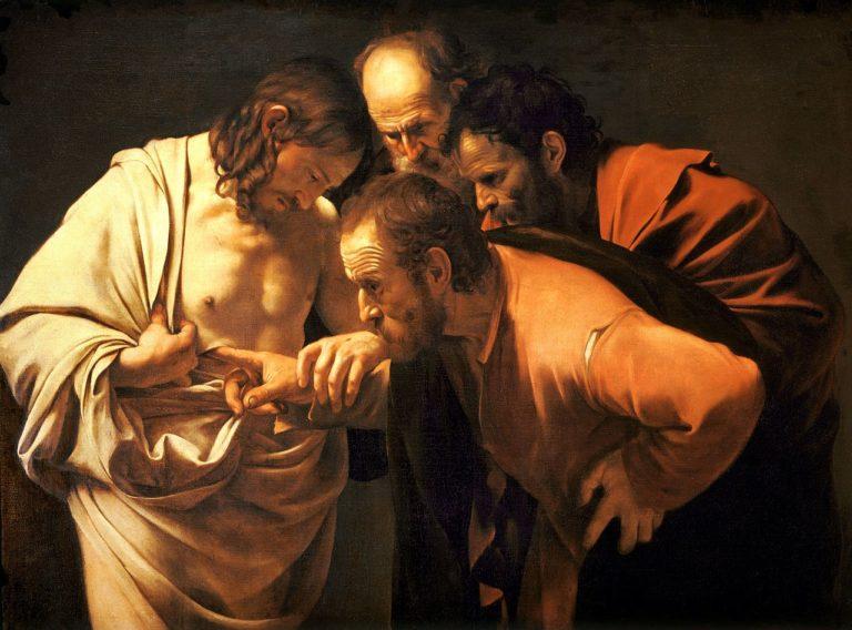 Уверение Фомы. Ок. 1601-1602
