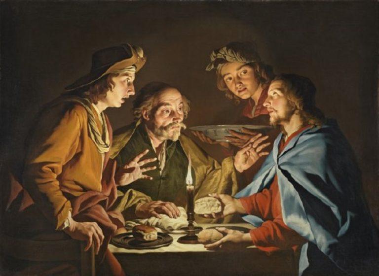 Ужин в Эммаусе. 1633-1639