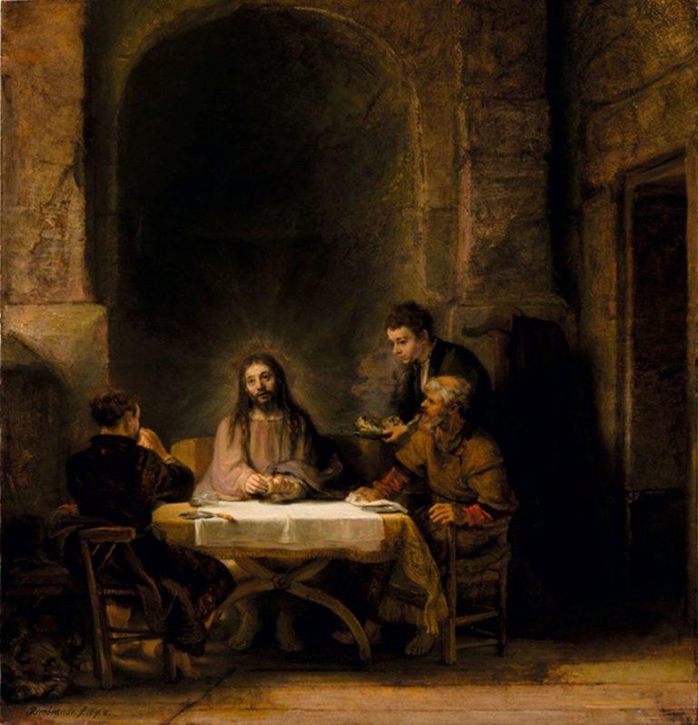 Ужин в Эммаусе. 1648