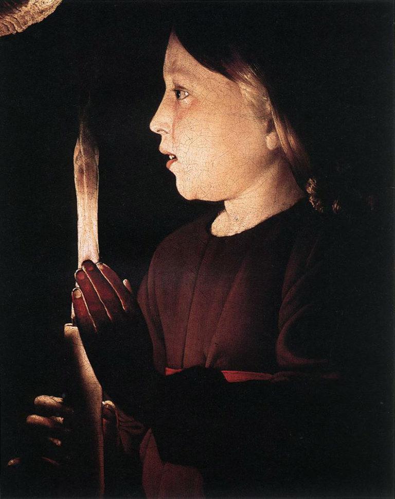 В мастерской Иосифа-плотника. Деталь. 1645