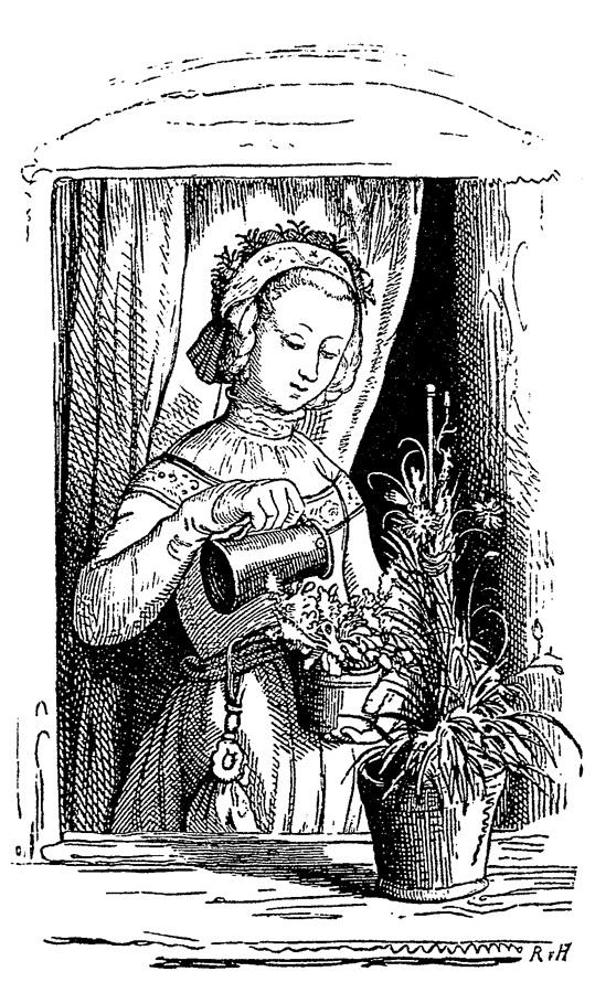 Верная любовь (Volksmärchen. Liebestreue). 1842