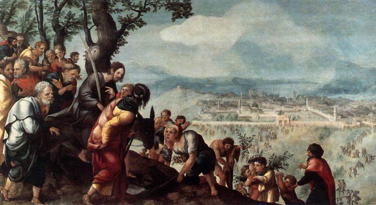 Вход Господень в Иерусалим. 1526-27