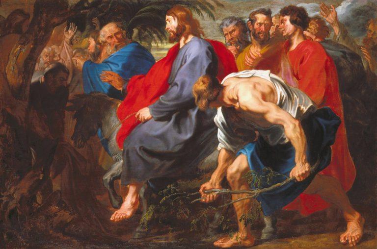 Вход Господень в Иерусалим. 1617