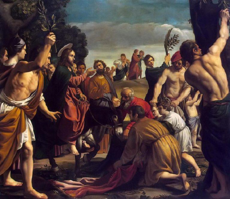 Вход Господень в Иерусалим. 1620