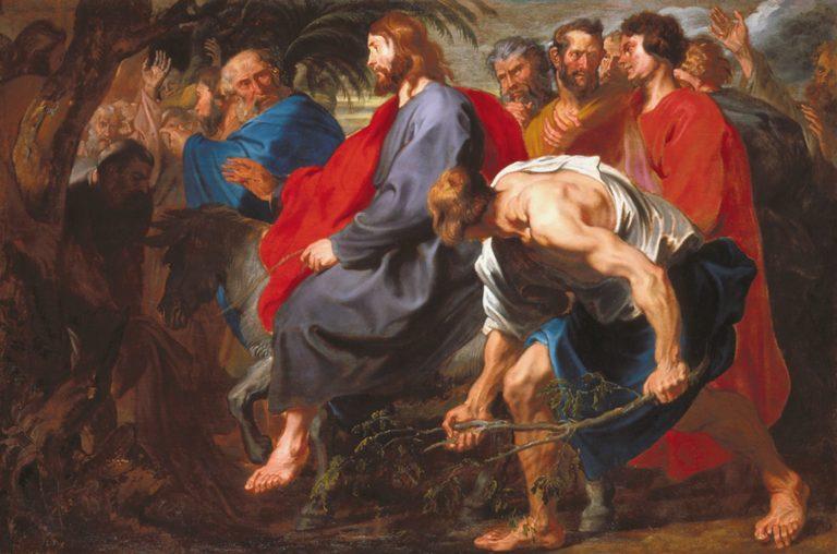 Вход в Иерусалим. 1617