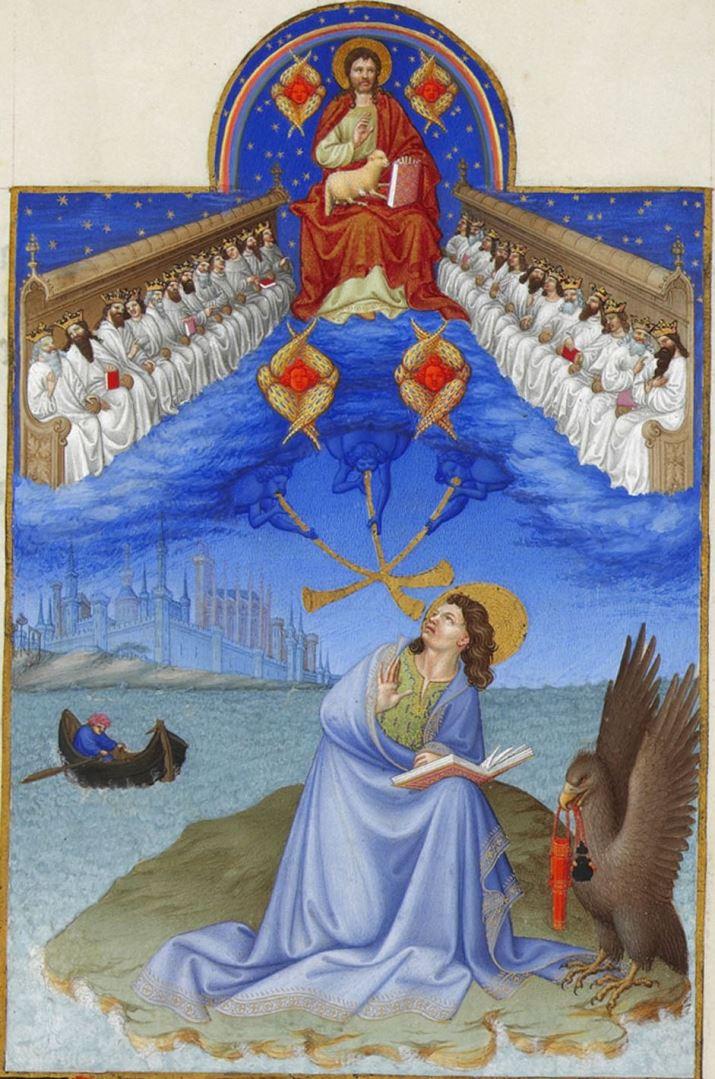 Видение Иоанна Богослова. Между 1411 и 1416