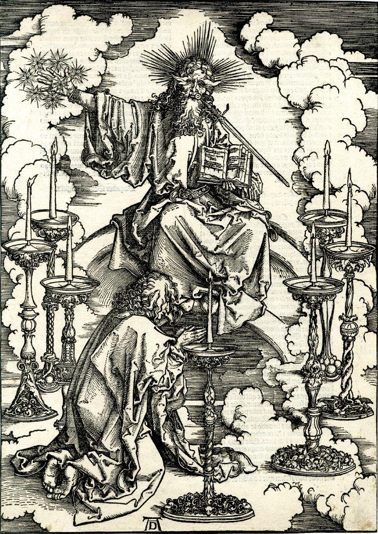 Видение Иоанном семи светильников. 1498