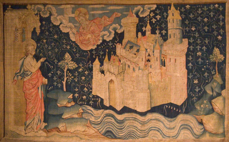 Видение Небесного Иерусалима Иоанном Богословом. 1373 - 1381