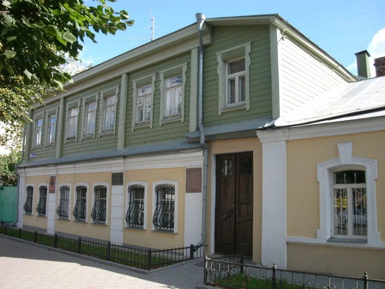 Воронеж. Дом, в котором родился Иван Бунин