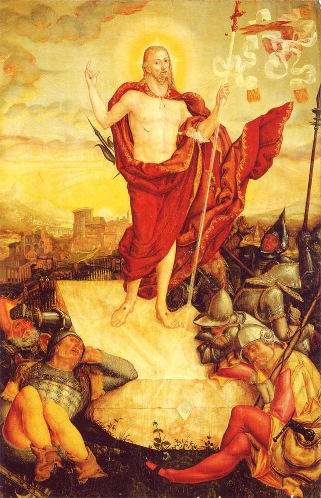 Воскресение Христа. 1558