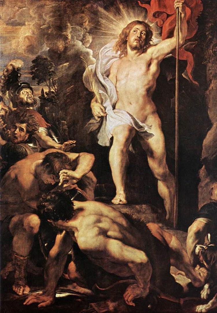 Воскресение Христа. ок. 1612