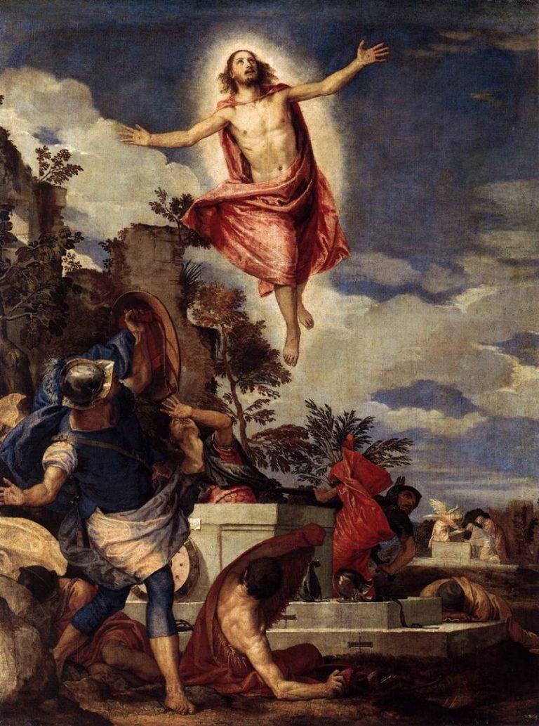 Воскресение Иисуса Христа. Ок. 1570