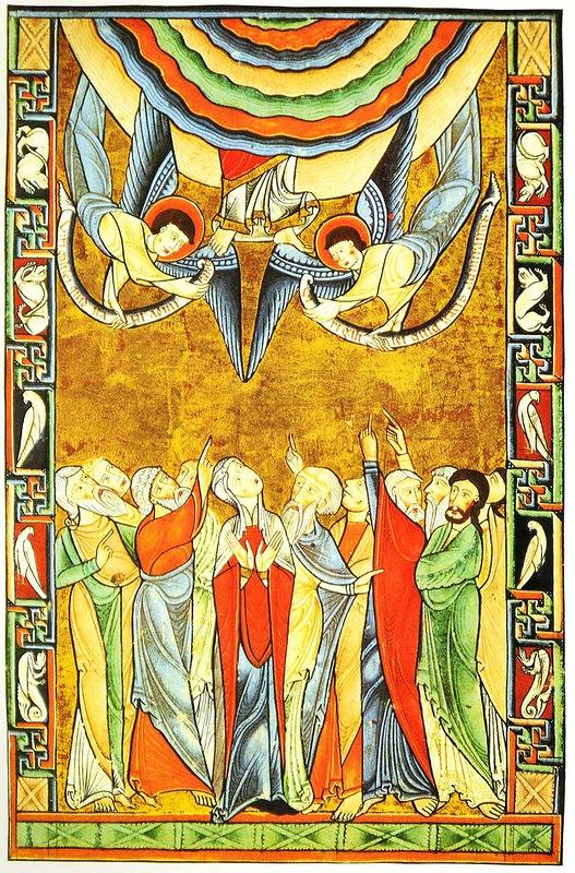 Вознесение Господне. XII в.