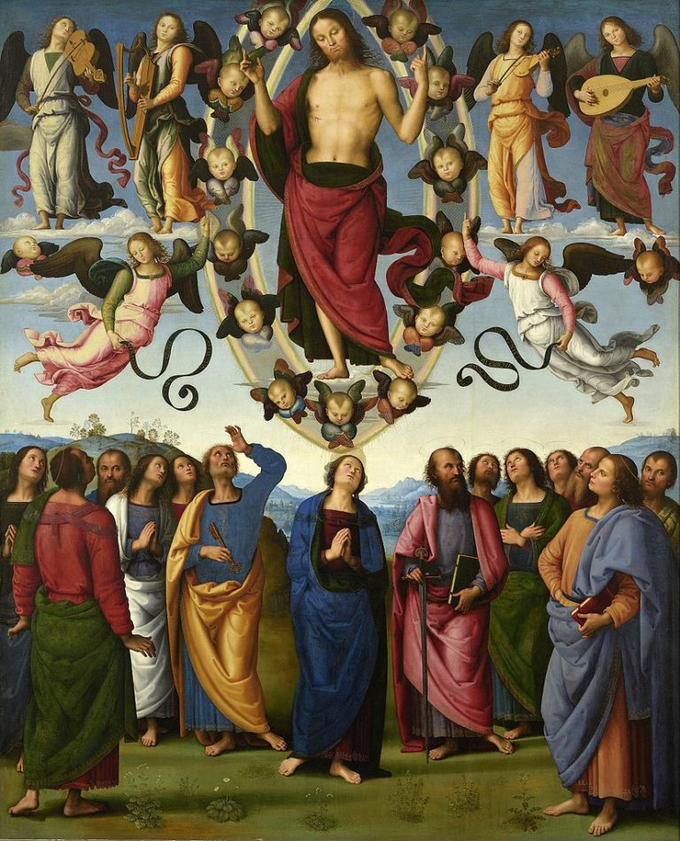 Вознесение Христа. 1496-1500