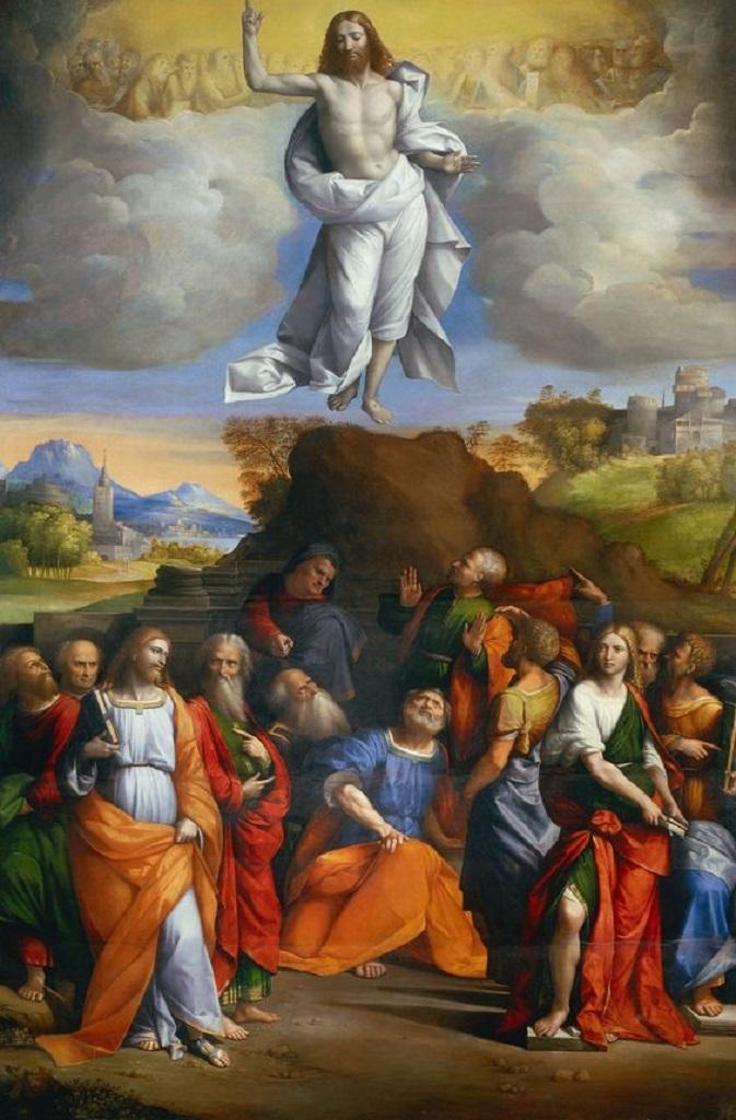 Вознесение Христа. 1510-1520