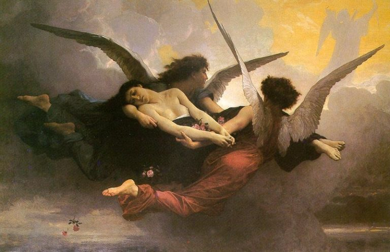 Вознесение души на небеса. 1878
