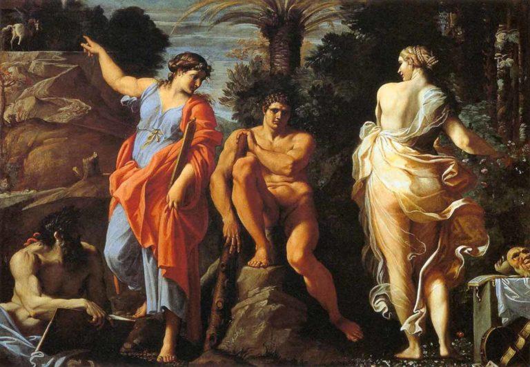 Выбор Геракла. Ок. 1596