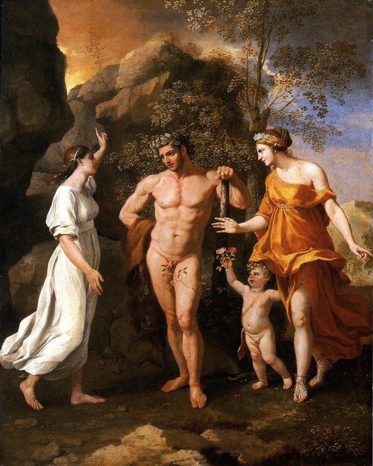 Выбор Геркулеса. 1626-28