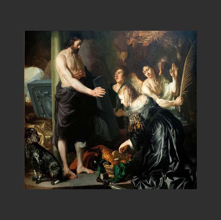 Явление Христа Марии Магдалине и ангелам