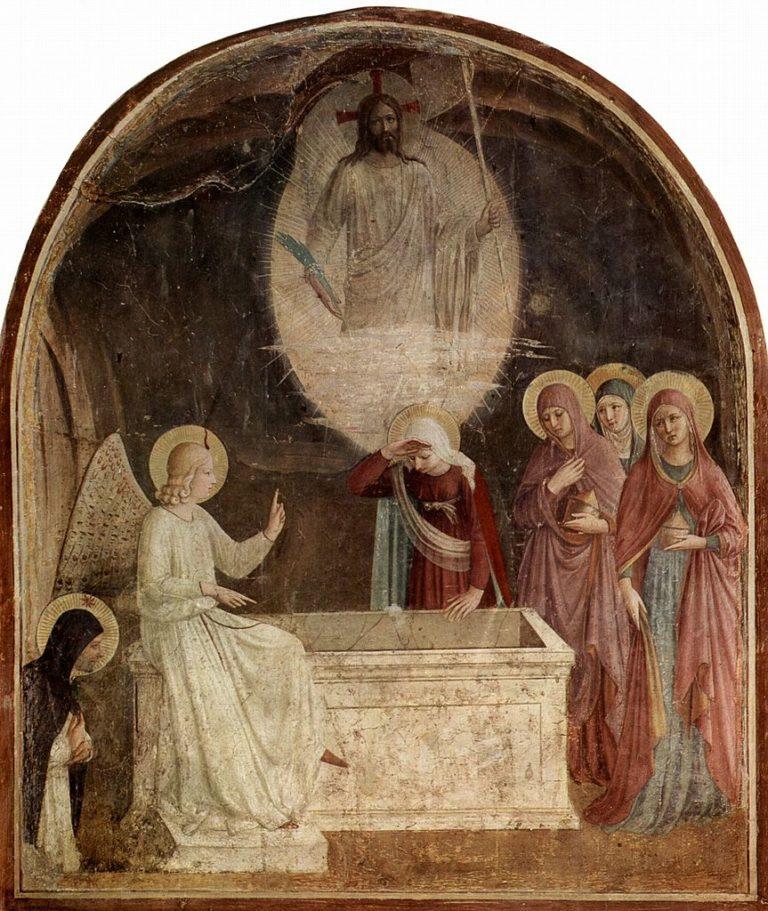 Жены-мироносицы у Гроба Господня. Ок. 1437-1446