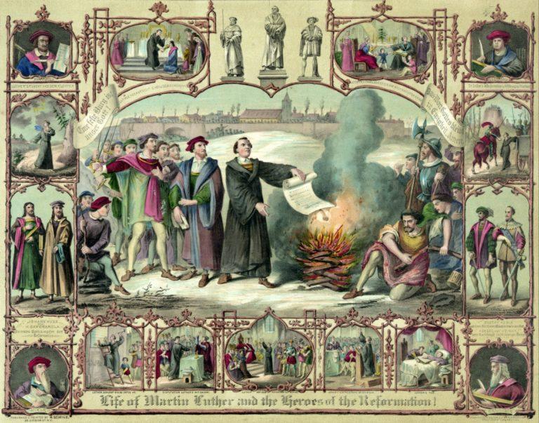 Жизнь Мартина Лютера. 1874