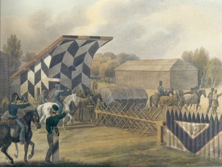 Застава у Гжатска 5 сентября 1812 г.