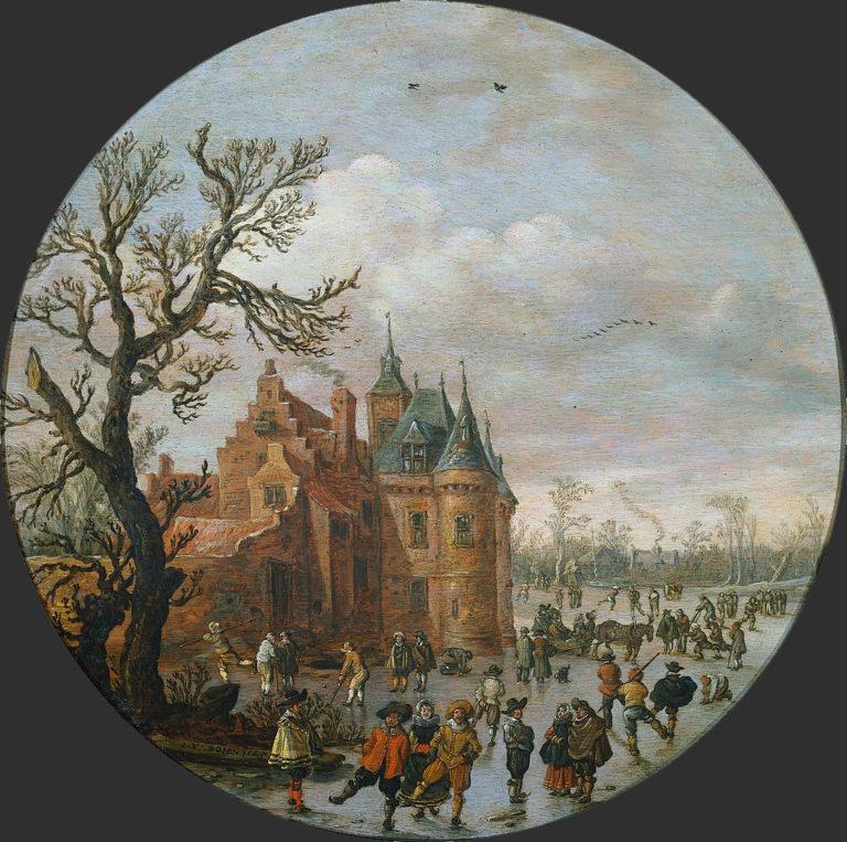 Зима. 1625