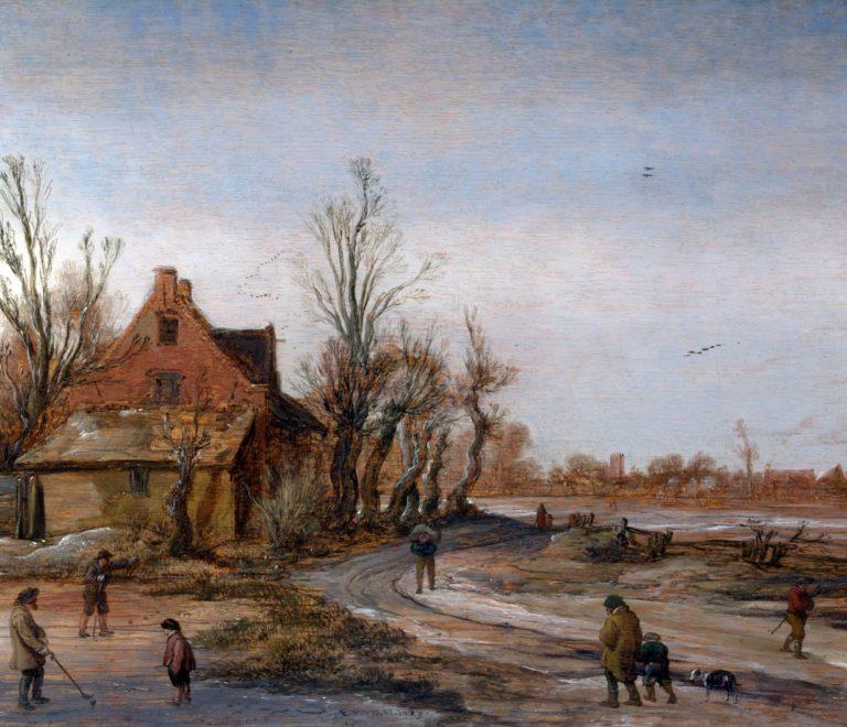 Зимний пейзаж. 1623